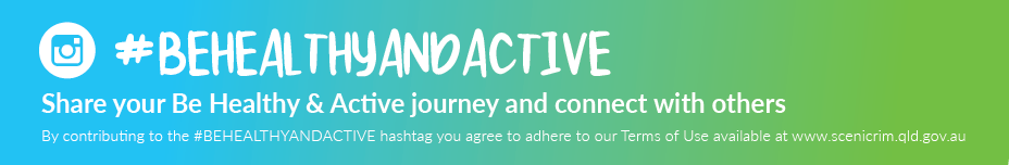 banner #behealthyandactive