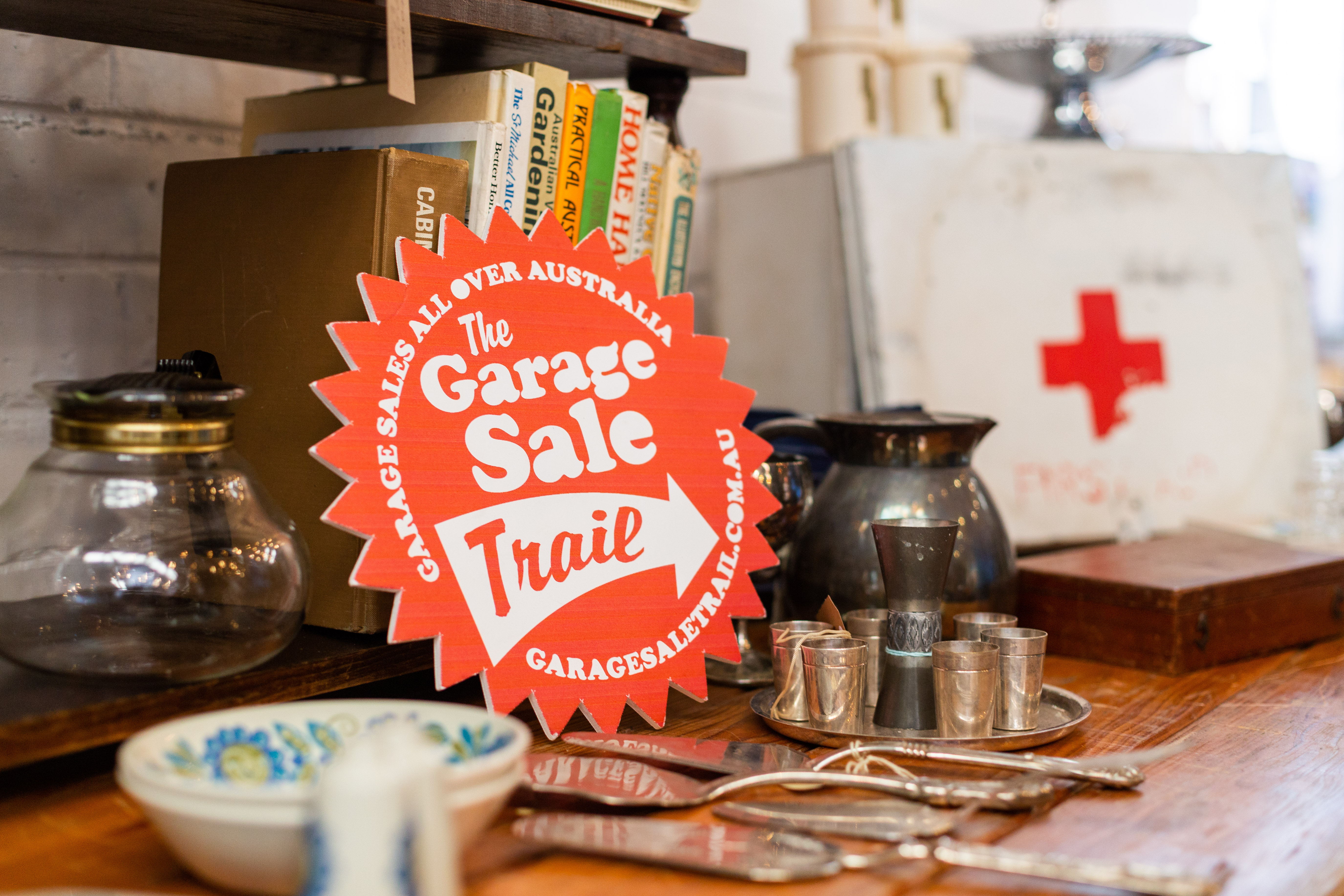 Garage sale trail will be raining bargains