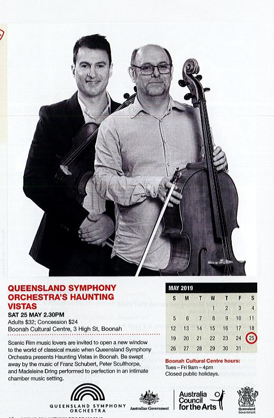 Qld Symphony Orchestra's Haunting Vistas – Scenic Rim