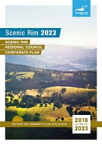 Scenic Rim Corporate Plan Cover